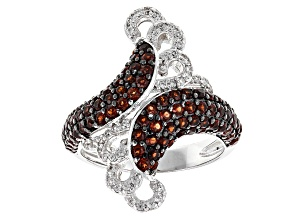 Pre-Owned Red Garnet Sterling Silver Ring 1.87ctw