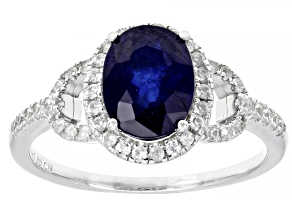 Pre-Owned Mahaleo Sapphire Sterling Silver Ring 2.62ctw