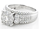 Pre-Owned Moissanite Platineve Ring 1.35ctw D.E.W