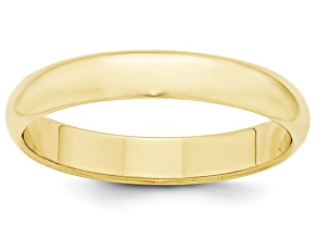Pre-Owned 10k Yellow Gold 4mm Half-Round Band