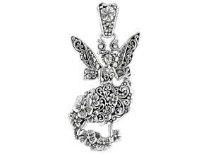 Pre-Owned Sterling Silver Fairy Pendant