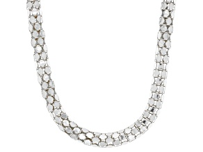 Pre-Owned Sterling Silver 4.90MM Popcorn Chain 20 Inch Necklace