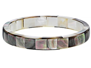 Pre-Owned Tahitian Mother-of-Pearl 8.5 Inch Bangle