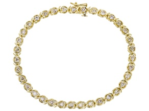 Pre-Owned Candlelight Diamonds™ 10k Yellow Gold Tennis Bracelet 2.00ctw