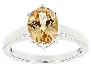 Pre-Owned Golden Imperial Hessonite™ Sterling Silver Ring 2.00ct