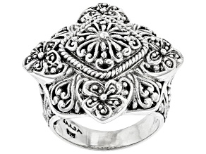 """Pre-Owned Sterling Silver """"Eternal Glory"""" Ring"""