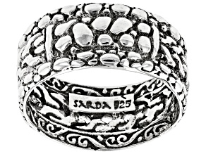 """Pre-Owned Sterling Silver """"Intertwine""""  Band Ring"""