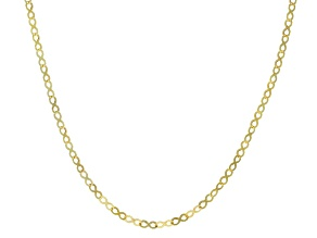 Pre-Owned 10k Yellow Gold 3.2mm Infinity Link Necklace 20 Inches