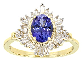 Pre-Owned Blue Tanzanite 14k Yellow Gold Ring 1.75ctw