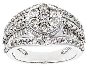 Pre-Owned White Diamond 10k White Gold Ring 1.75ctw