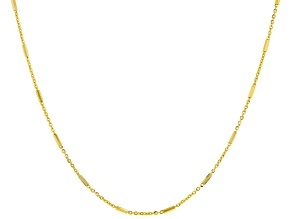 Pre-Owned 10K Yellow Gold Bar Necklace 20 Inch