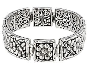 Pre-Owned Sterling Silver Dragonfly Bracelet