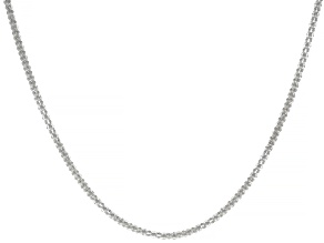 Pre-Owned Sterling Silver 1.8MM Popcorn Chain