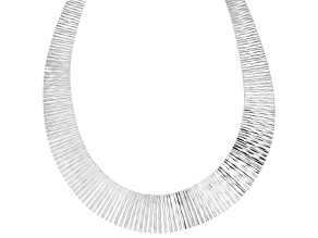 """Pre-Owned Sterling Silver Cleopatra Necklace 20"""""""