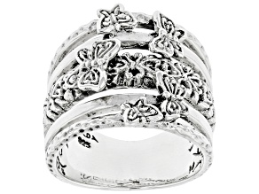 """Pre-Owned Sterling Silver """"Life Change"""" Ring"""