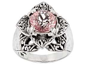 Pre-Owned Mountain Wizard™ Quartz Silver Ring 2.38ct