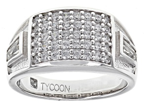 Pre-Owned White Cubic Zirconia Platineve Ring 2.00ctw