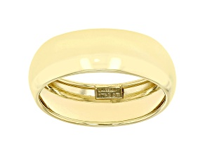 Pre-Owned 10K Yellow Gold 6.6MM High Polished Domed Mirror Band Ring