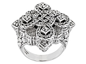 """Pre-Owned Sterling Silver """"Devotion"""" Ring"""