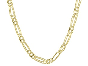 Pre-Owned 10K Yellow Gold Figaro Chain