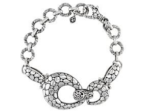 Pre-Owned Sterling Silver Link Bracelet