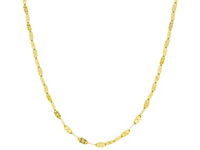 Pre-Owned 14K Yellow Gold Mirror Chain