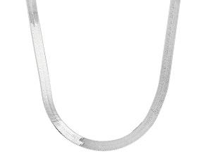 Pre-Owned Sterling Silver 3MM Herringbone Chain