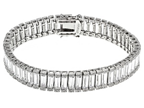 Pre-Owned Cubic Zirconia Sterling Silver Bracelet 47ctw