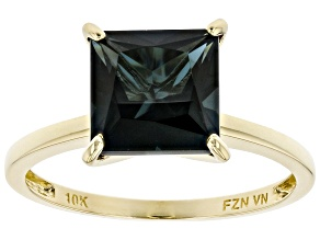 Pre-Owned Blue Topaz 10K Yellow Gold Ring 2.48ct