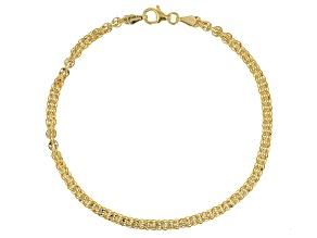 Pre-Owned 10K YELLOW GOLD PHOENIX FANCY DESIGNER BRACELET