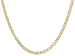 Pre-Owned 14k Yellow Gold 1.80mm 18 inch Mariner Link Chain Necklace