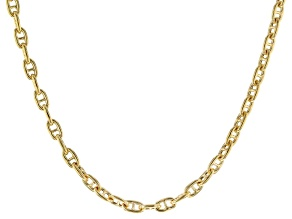 Pre-Owned 14k Yellow Gold 2.85mm 18 inch Mariner Link Necklace
