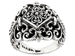 """Pre-Owned Sterling Silver """"Adair"""" Filigree Ring"""