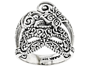 """Pre-Owned Sterling Silver """"Masquerade""""  Ring"""