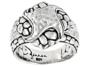"""Pre-Owned Sterling Silver """"Sow Into Kindness"""" Ring"""