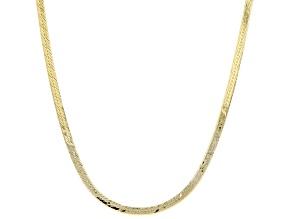 Pre-Owned 10K Yellow Gold 1.5MM Baby Herringbone Chain
