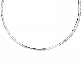 Pre-Owned Sterling Silver Omega Chain