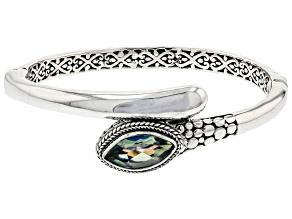 Pre-Owned Green Reflections™ Quartz Silver Bracelet 3.23ct