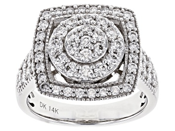 Picture of Pre-Owned White Lab-Grown Diamond 14K White Gold Ring 1.40ctw