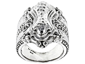 """Pre-Owned Sterling Silver """"You Matter"""" Statement Ring"""