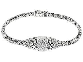 "Pre-Owned Sterling Silver ""Hope Renewed Today"" Bracelet"