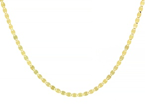 Pre-Owned 10k Yellow Gold Designer Chain 20 Inch Necklace