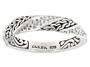 Pre-Owned Sterling Silver Chainlink Band Ring