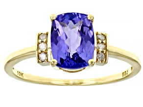 Pre-Owned Blue Tanzanite 10k Yellow Gold Ring 1.44ctw