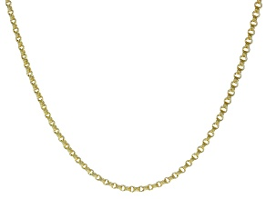 Pre-Owned 10k Yellow Gold 3.5MM Designer Square Curb 18 inch Necklace