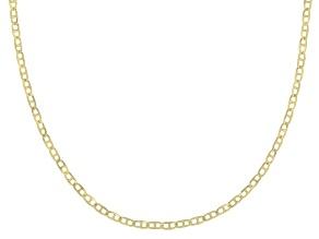Pre-Owned 10K Yellow Gold .5MM Baby Portofino Designer Chain
