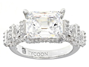 Pre-Owned White Cubic Zirconia Platineve Ring 7.33ctw