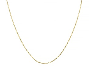 Pre-Owned Splendido Oro™ 14K Yellow Gold Baby Curb Chain  20 Inch Necklace