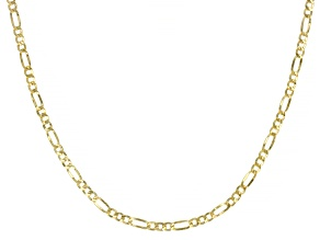 Pre-Owned Splendido Oro™ 14K Yellow Gold 20 Inch Figaro Chain Necklace
