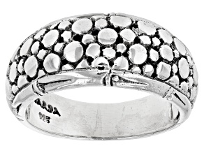 """Pre-Owned Sterling Silver """"Promises"""" Band Ring"""